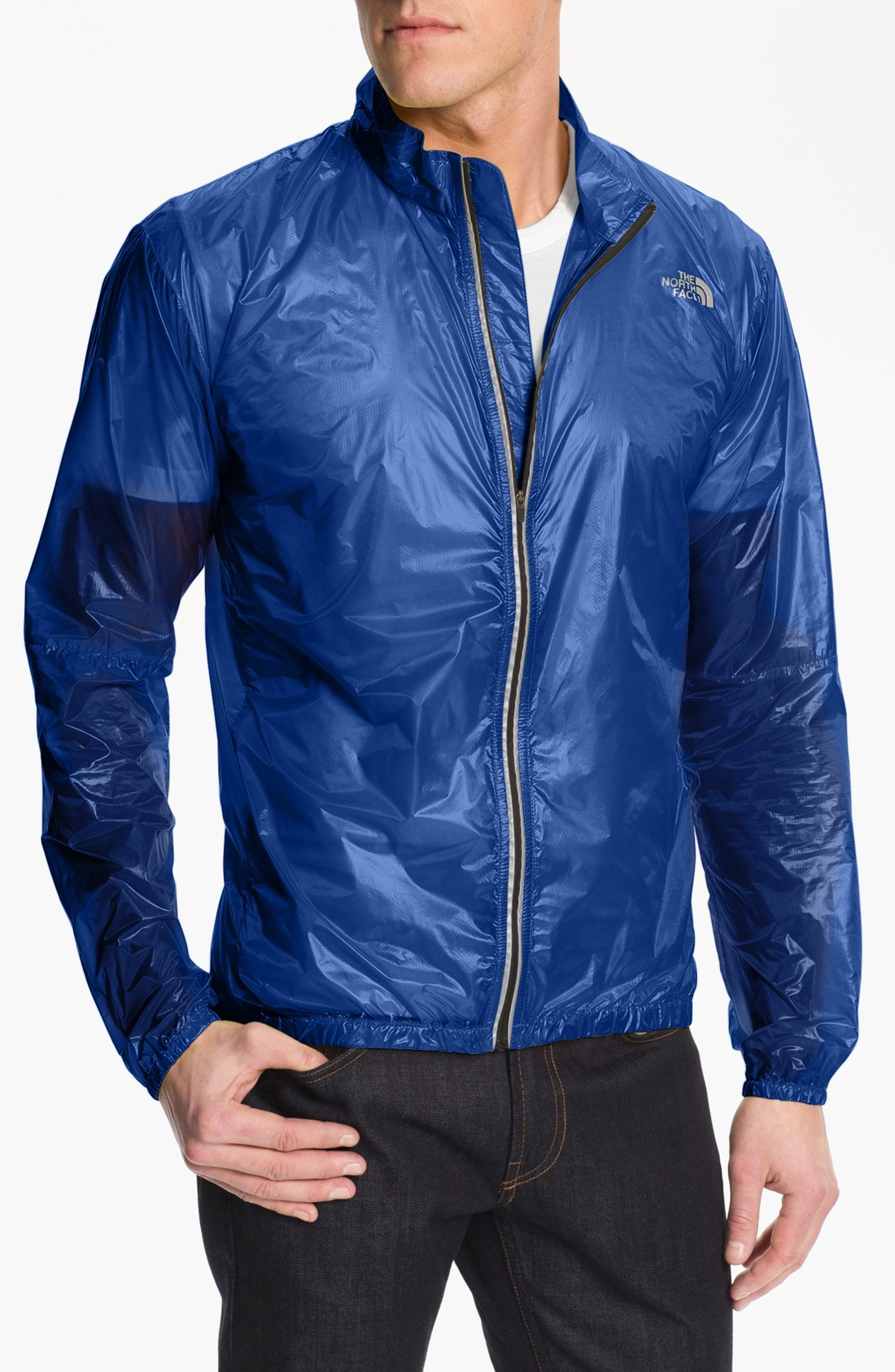 The North Face Accomack Light Weight Jacket In Blue For