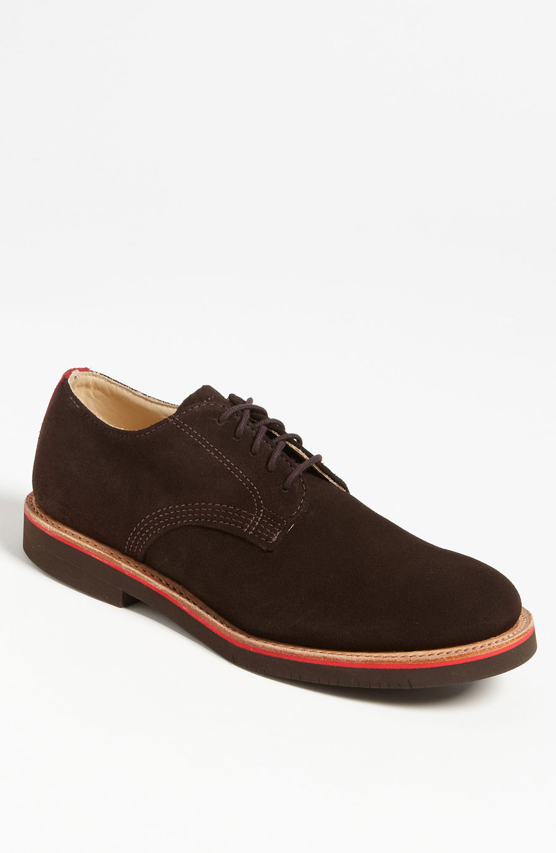 walk derby buck shoe in brown for chocolate
