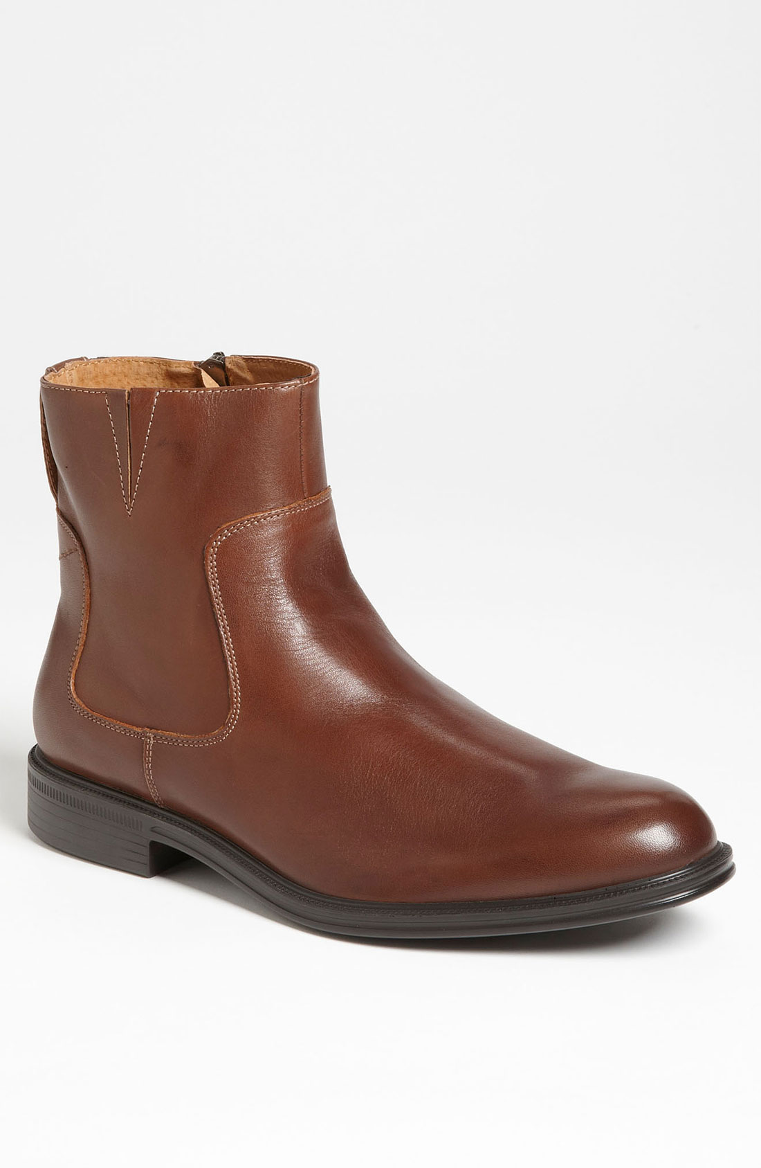 florsheim network boot in brown for lyst