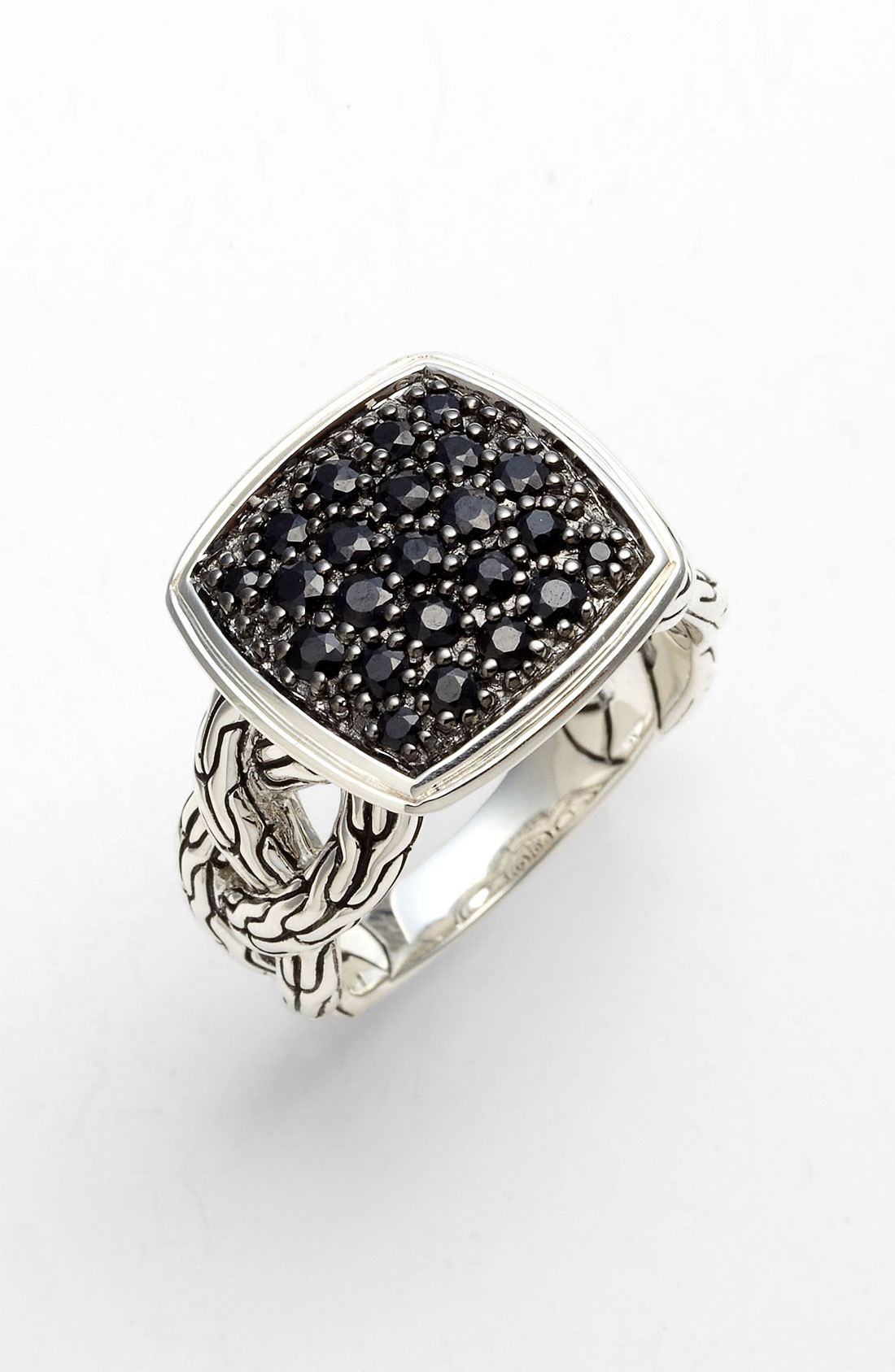 John Hardy Classic Chain Lava Small Cocktail Ring In