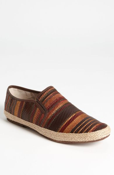 Kenneth Cole Got 2 Beweave Slipon in Brown for Men (brown multi)
