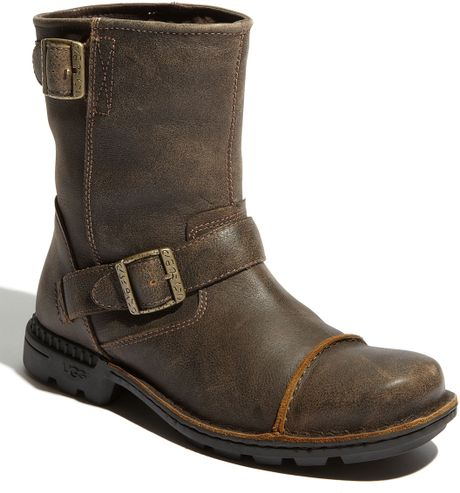 ugg rockville ii boot in brown for dune lyst