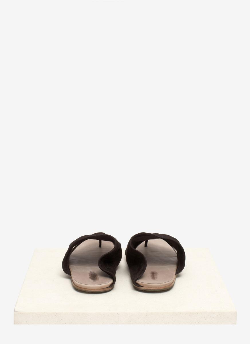 ceba892fa22f29 Lyst - Marsèll Suede Thong Sandals in Black for Men