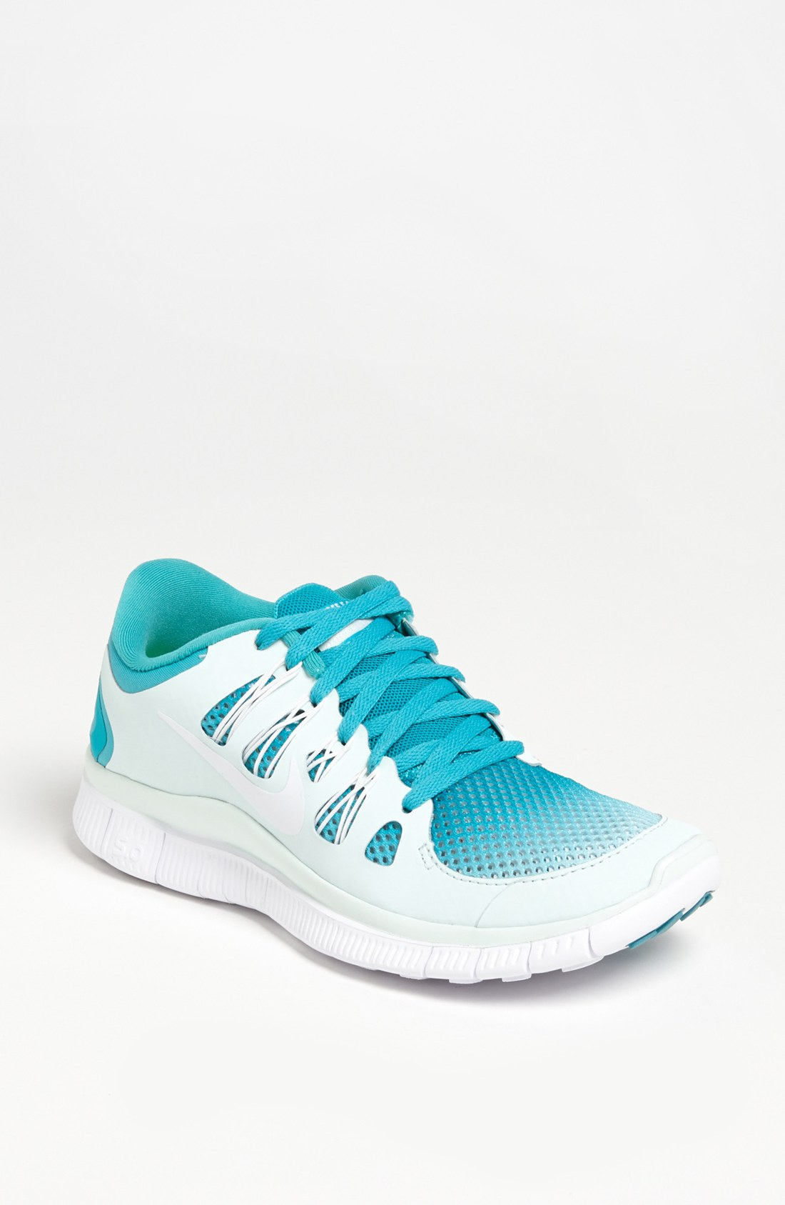 Elegant Nike Free 50 TR Fit 5 Womens Running Shoes Turquoise White For Cheap