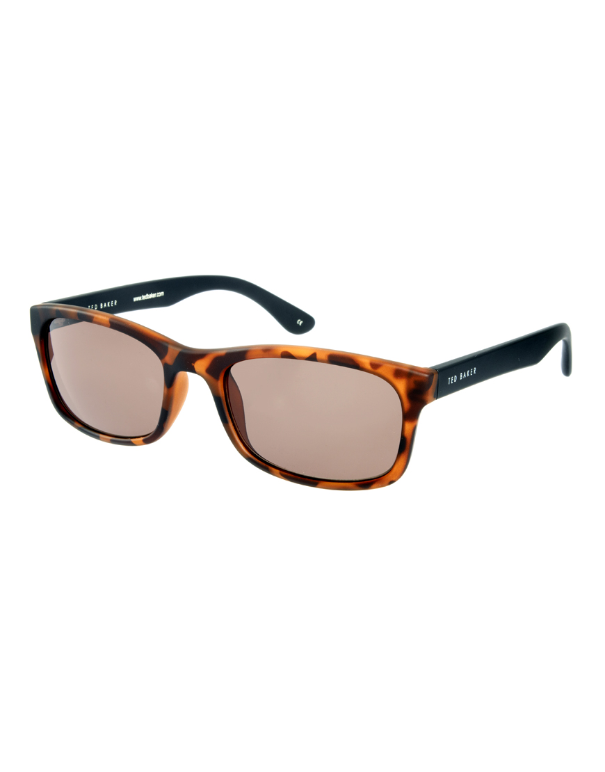 a34a56b577 Lyst - Ted Baker Wayfarer Sunglasses in Brown for Men