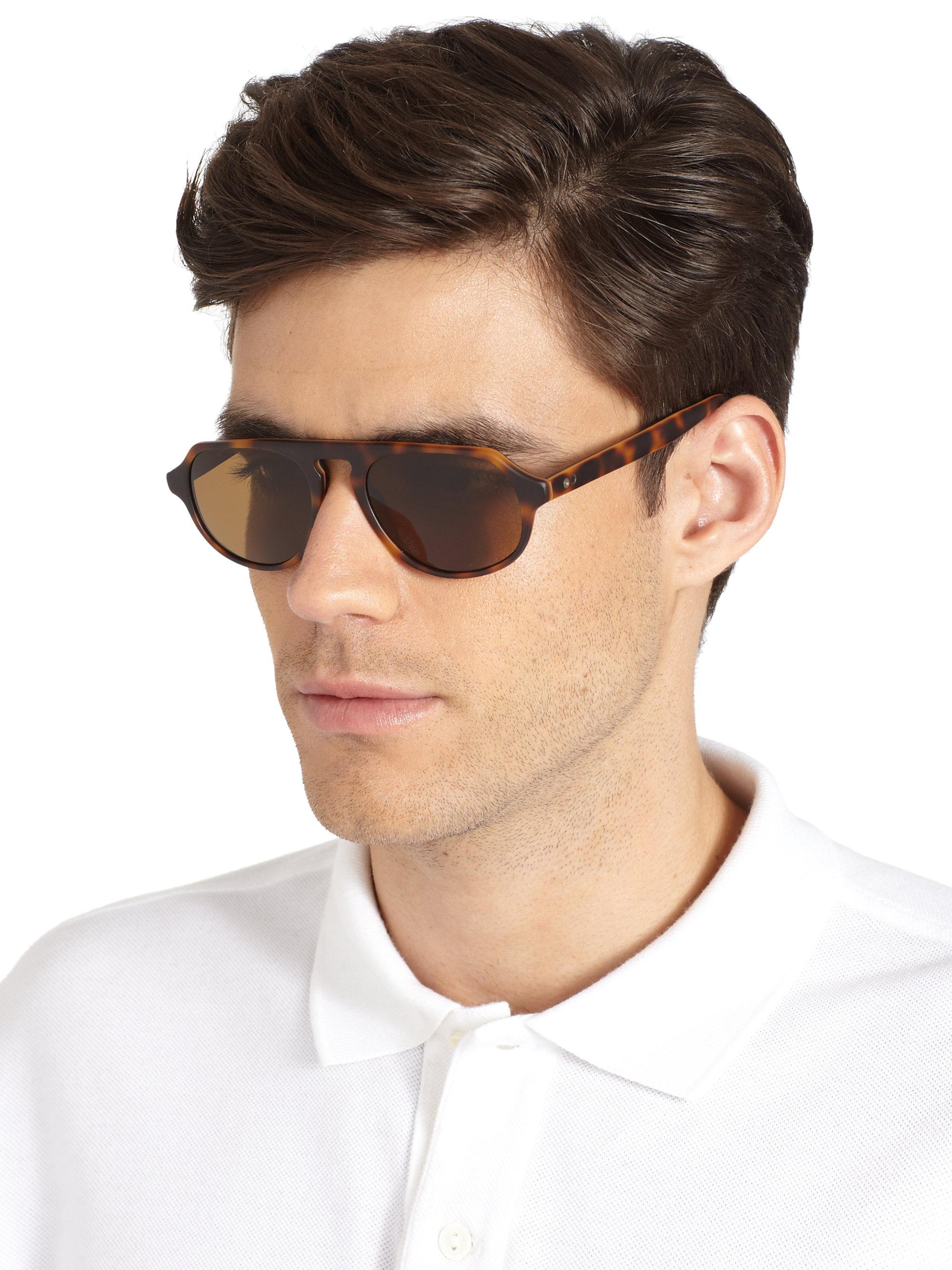 Paul Smith Elvin Acetate Sunglasses In Brown For Men Lyst