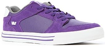 Supra The Vaider Low Top Sneaker in Purple and White - Lyst
