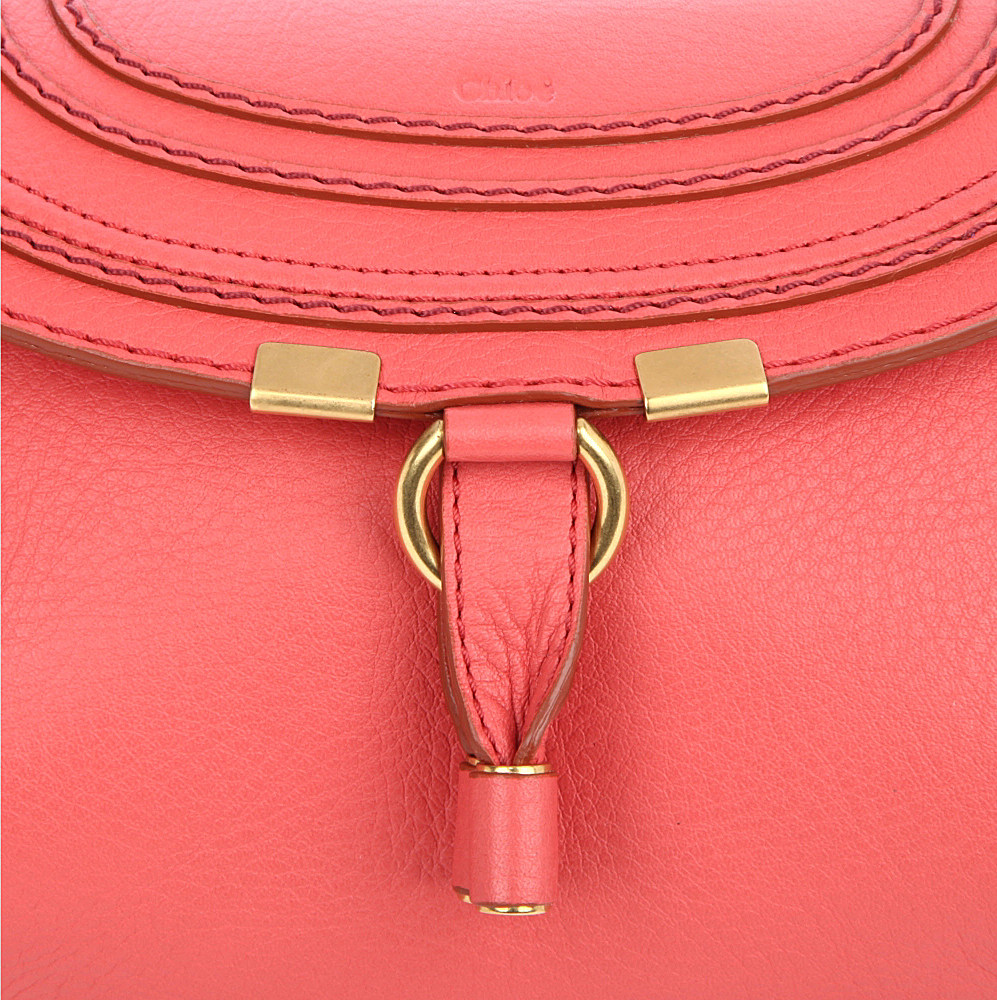 Chlo¨¦ Marcie Pouch with Strap in Pink (paradise pink)   Lyst