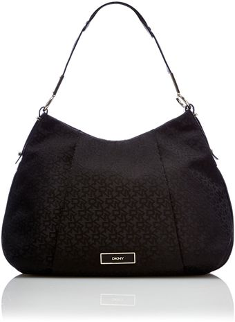 DKNY Crosby Black Hobo Bag - Lyst
