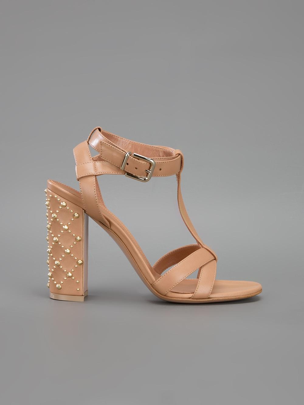 Gianvito Rossi Studded sandals 1PzVa