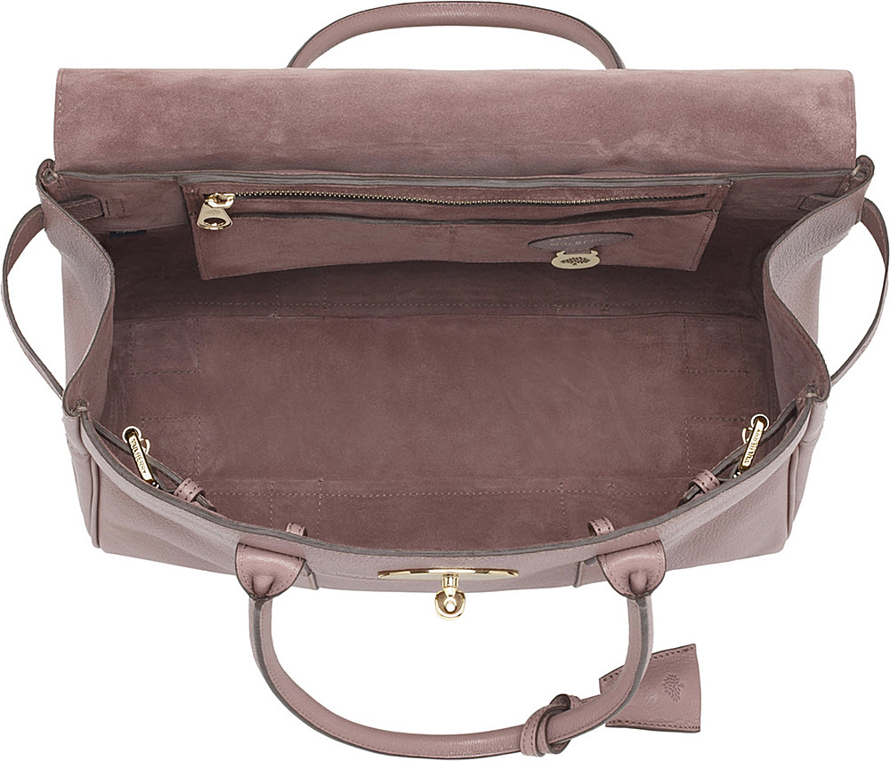 b3a8bd3f951 Mulberry Bayswater Glossy Goat Leather Handbag in Pink - Lyst
