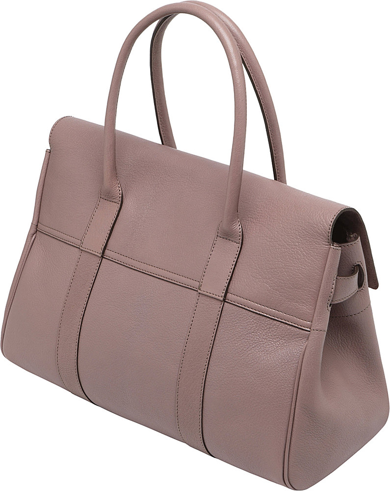 1660e5000c7 ... switzerland mulberry bayswater glossy goat leather handbag in pink lyst  929a9 3080f