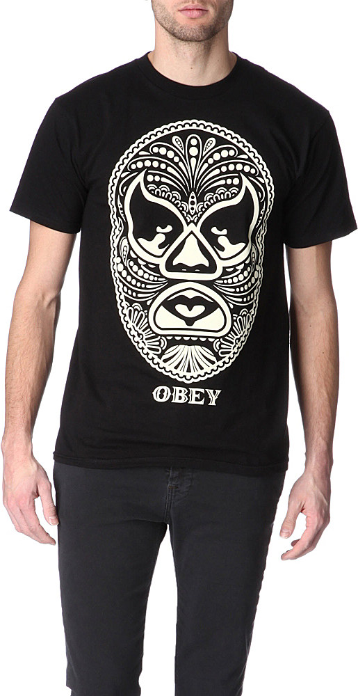 With the name always embedded Obey is more than just street art and tee shirts. Get a grasp on hoodies, tops, crewnecks, jeans, and jackets for men's and women's all from Obey. Featuring custom graphics from artists around the world Zumiez carries a variety of Obey clothing .