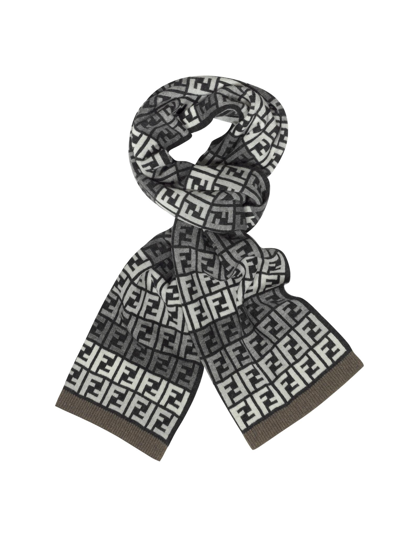 all over logo scarf Fendi 5unvTVkT0T