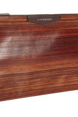 Givenchy Wood Effect Large Antigona Pouch