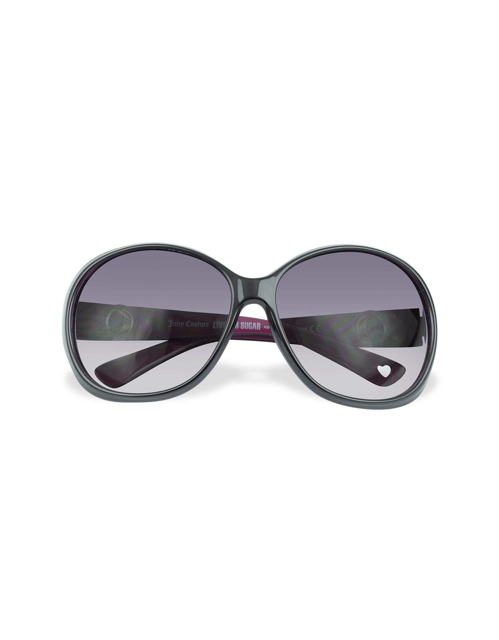 Juicy Couture Quaint - Round Sunglasses in Black - Lyst