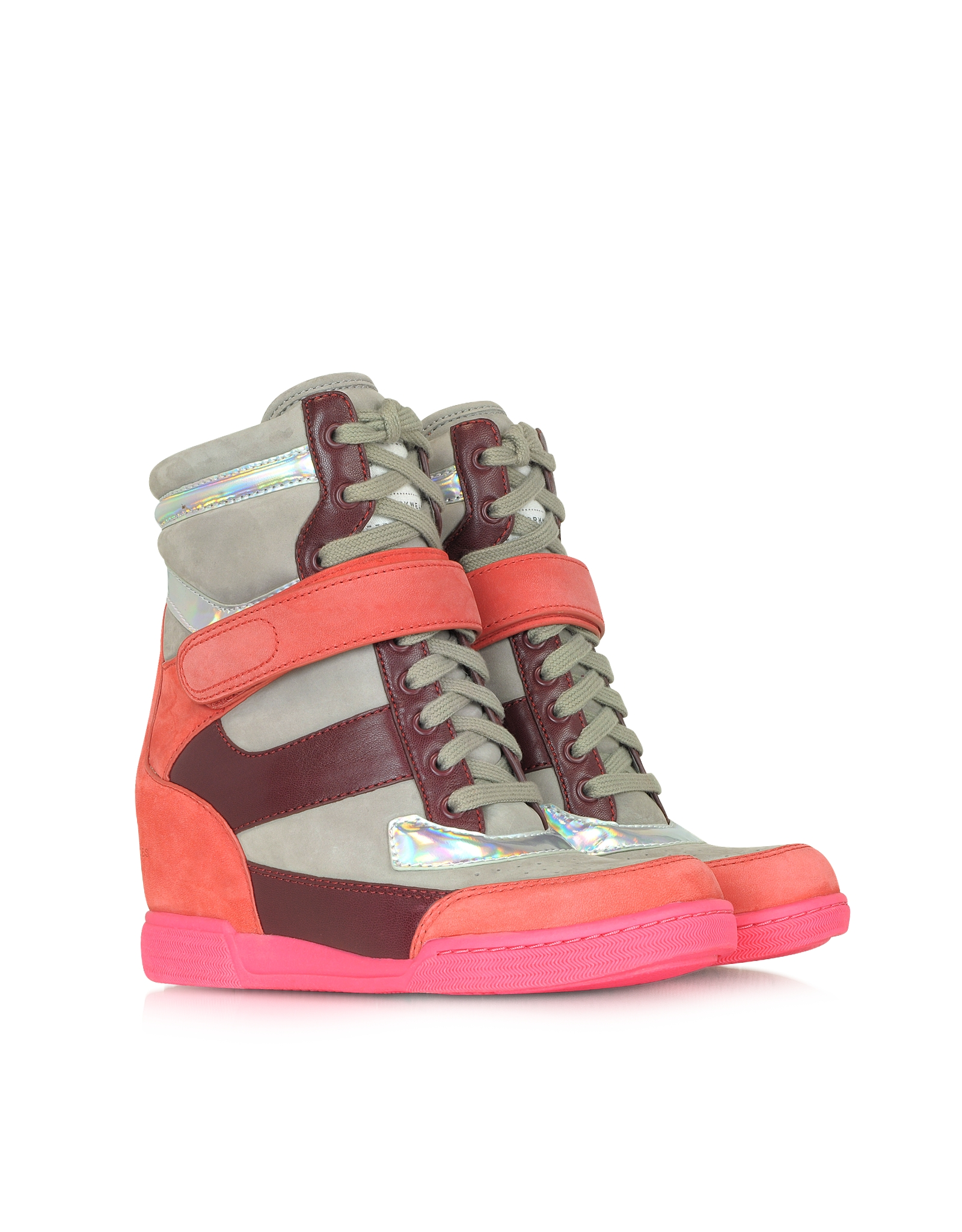 Lyst Marc By Marc Jacobs Kisha Hidden Wedge Sneakers In Pink