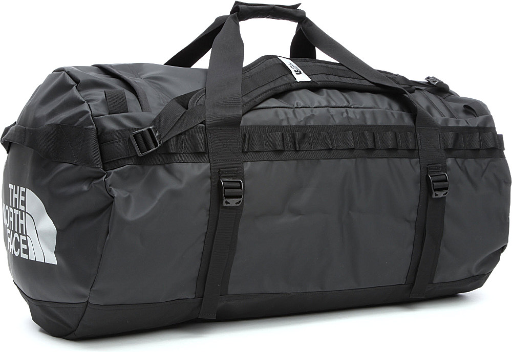 The North Face Base Camp Large Duffle Bag In Gray For Men | Lyst