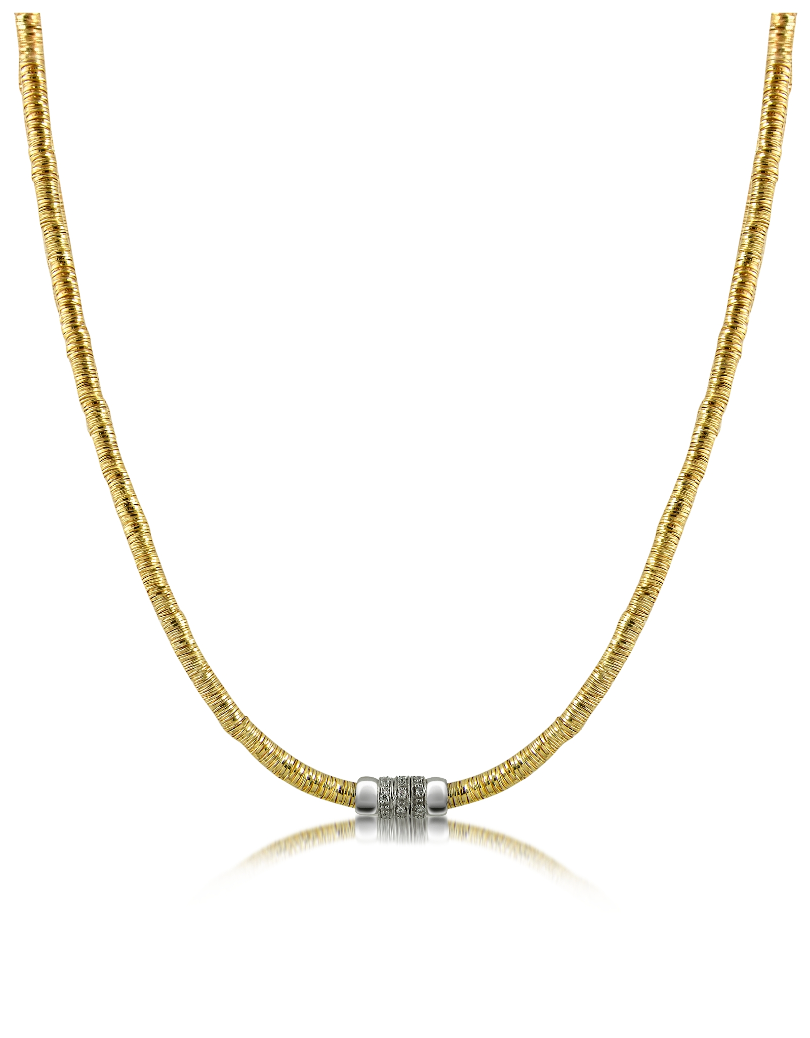 orlando orlandini capriccio diamond 18k gold chain snake. Black Bedroom Furniture Sets. Home Design Ideas