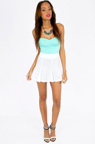 White Short Skirt