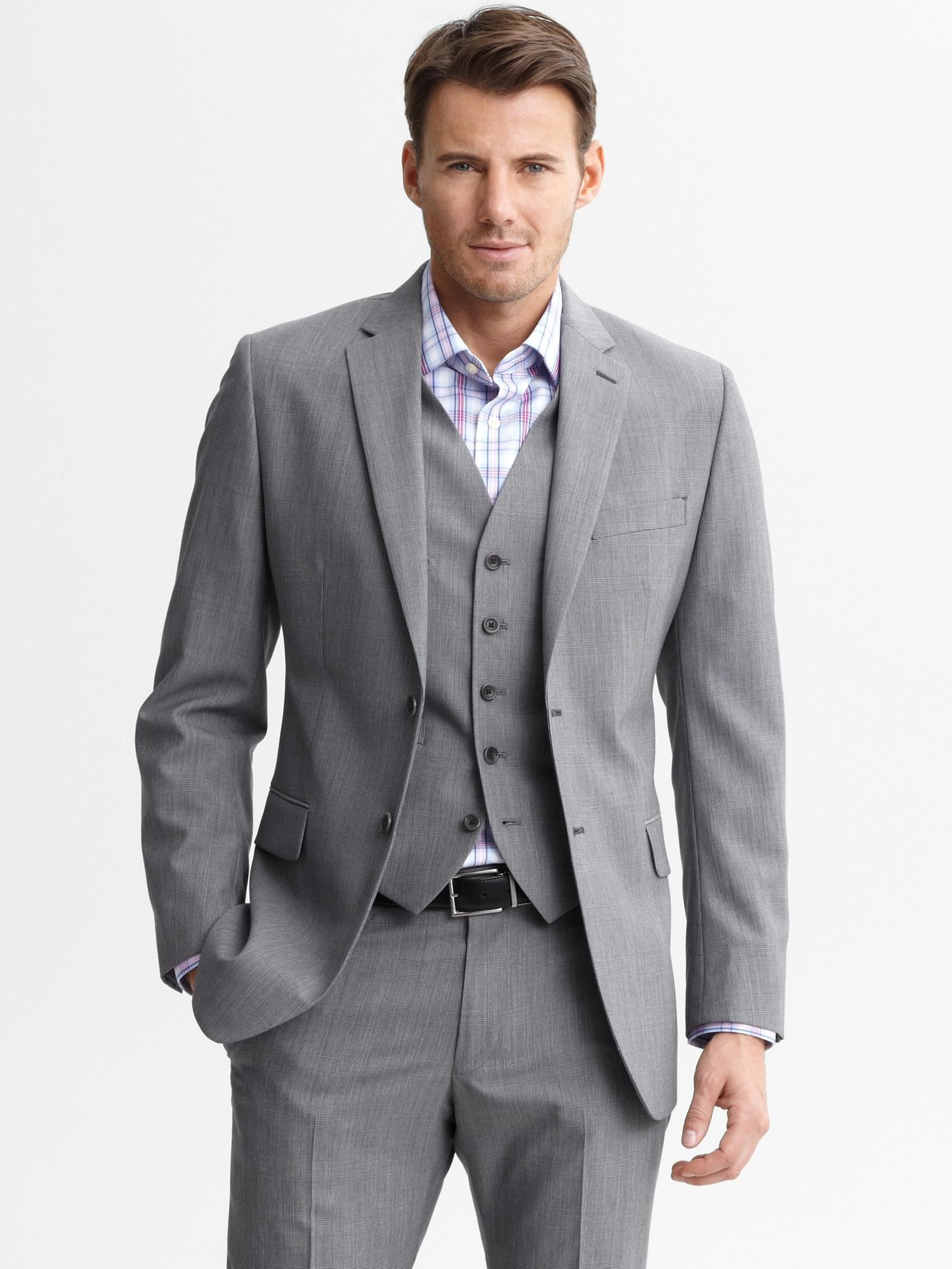 Heather Grey Suit Dress Yy