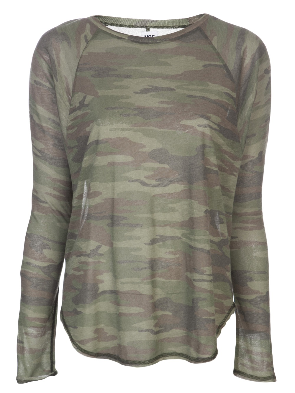 Lyst - Bliss and Mischief Loretta Vintage Camo Tshirt 689df6e84d3