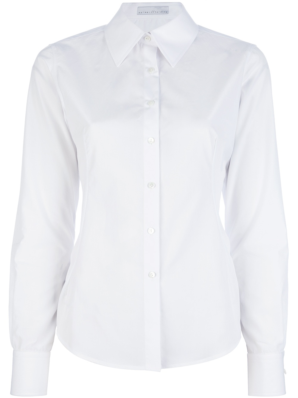 Basic White Shirt Womens
