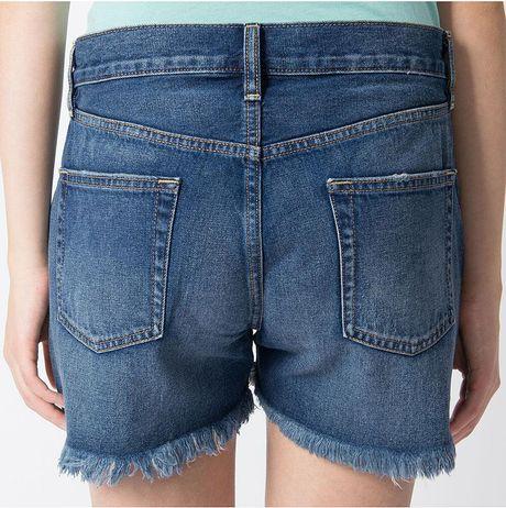 denim micro shorts - photo #15