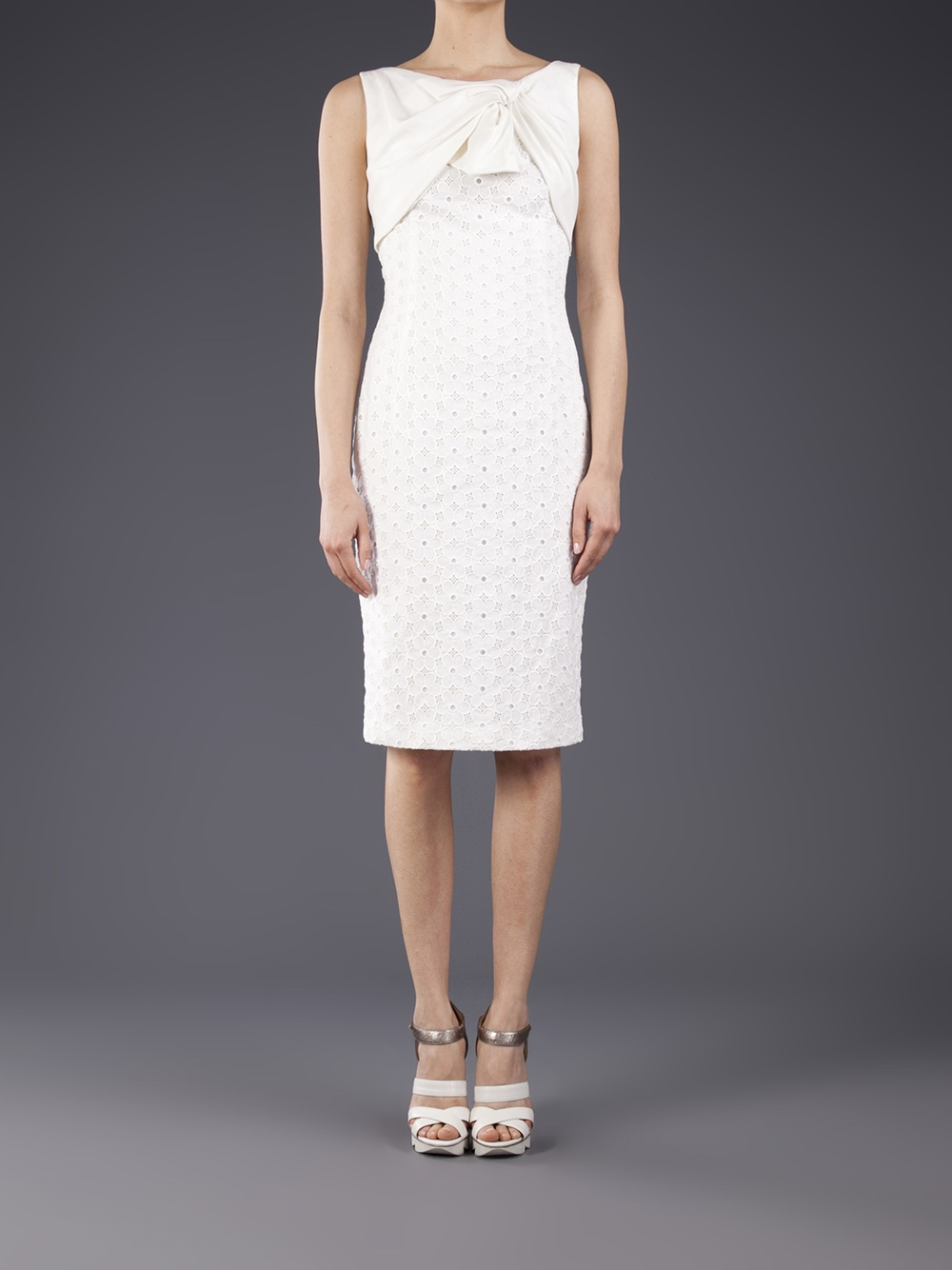 Many Kinds Of Sale Online Giambattista Valli tie bow dress Get To Buy For Sale Looking For mg9NES6