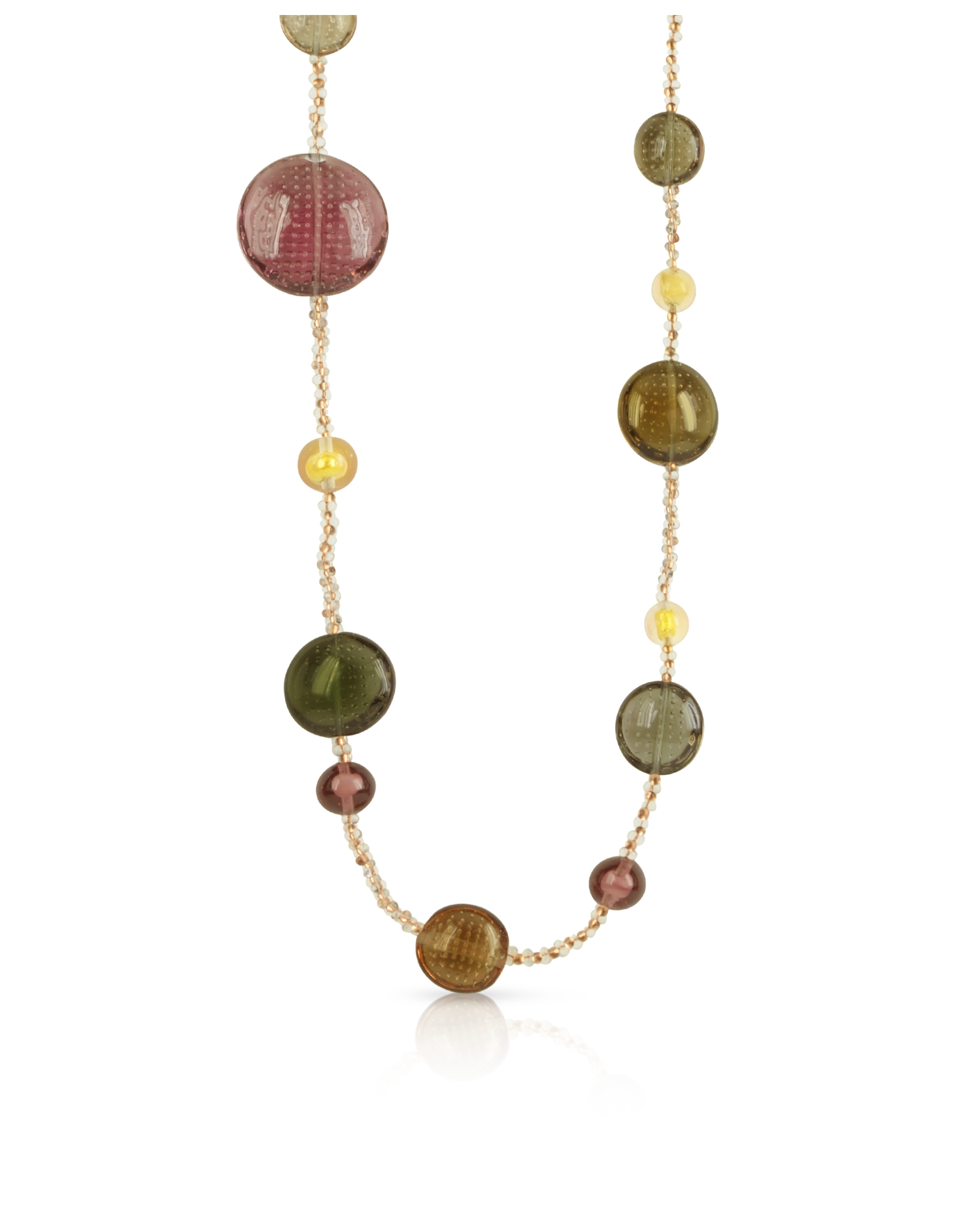 Antica murrina new york future murano glass long necklace for The future is female jewelry