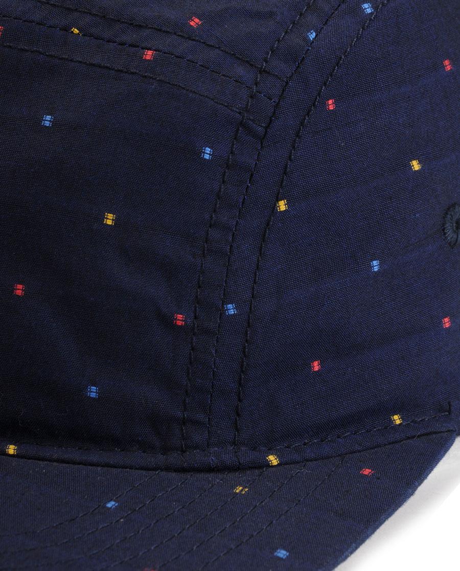 5c676513e7a7a Lyst - Rag   Bone 5 Panel Hat Navy in Blue for Men