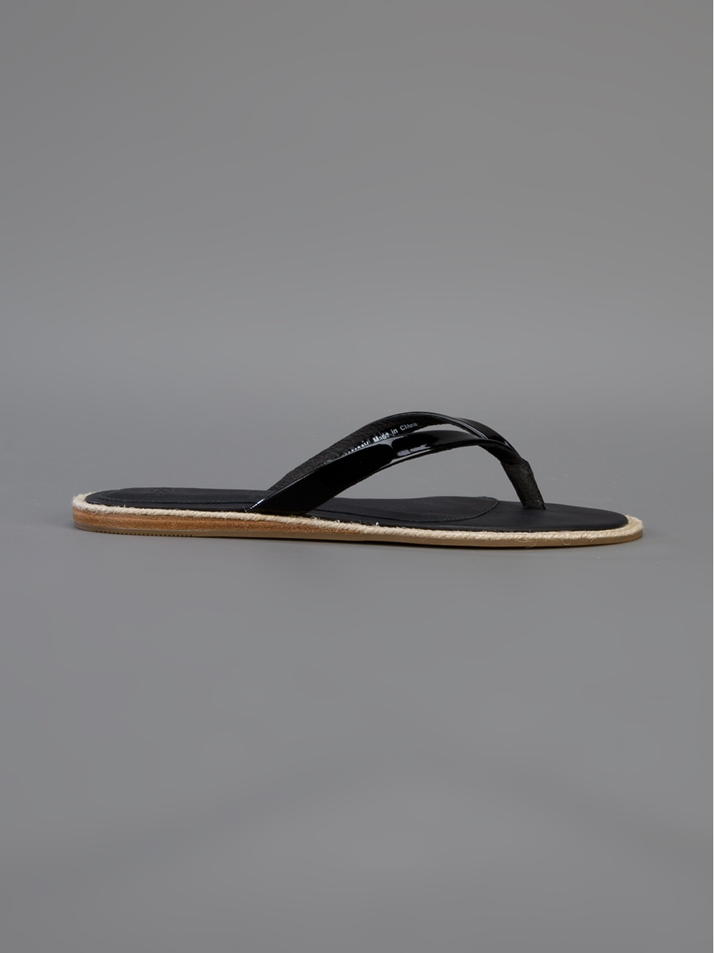 2ded1fd552c800 Ugg Black Patent Flip Flops