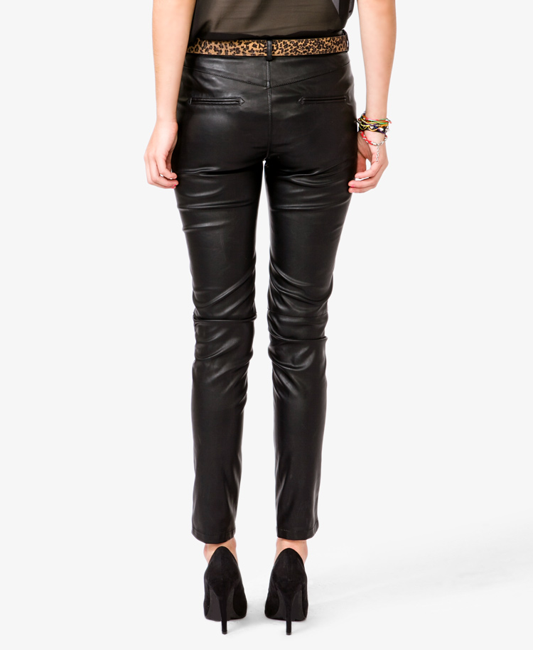 Perfect Women39s Faux Leather Pants Women39s Leather Leggings