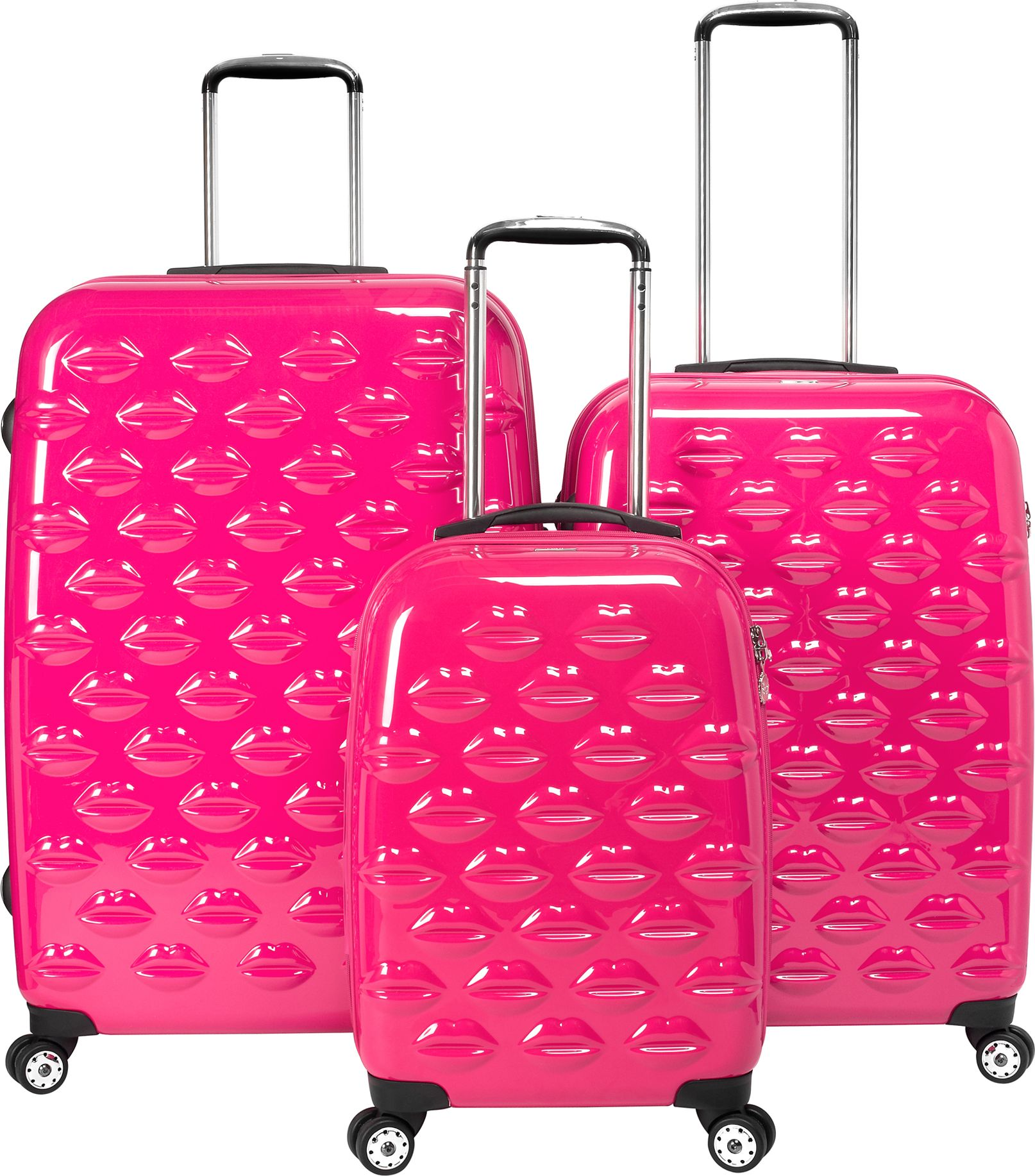Pink 4 Wheel Suitcase | Luggage And Suitcases