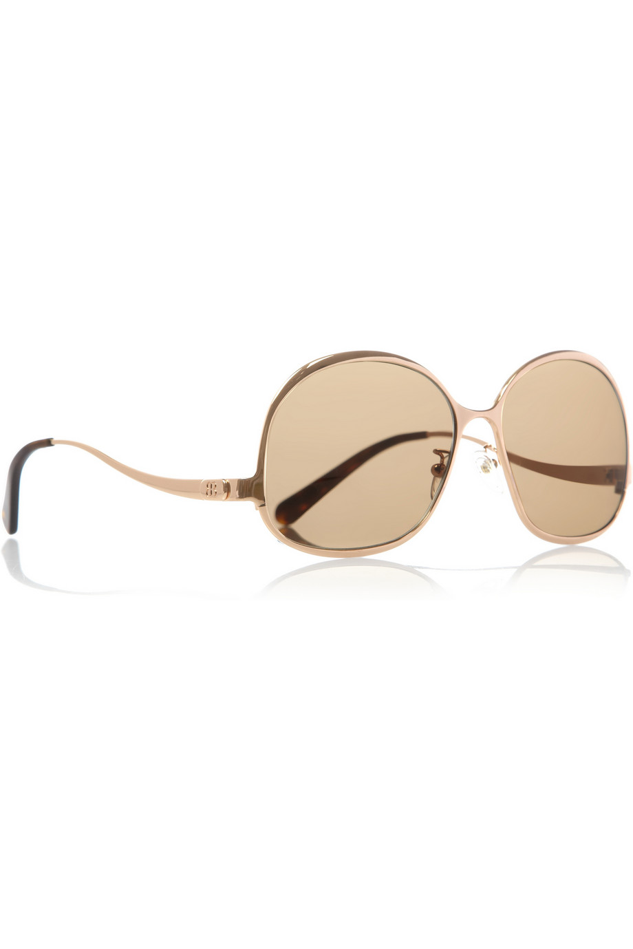 de con Balenciaga de montura Gafas sol redonda 6wCpxqHnz