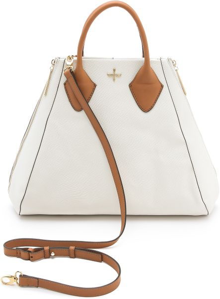 Pour La Victoire Yves Medium Satchel in White