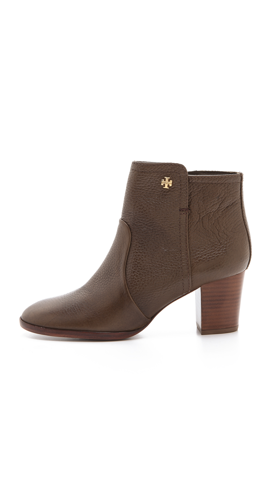 66d26add2e4 Lyst - Tory Burch Sabe Booties in Brown