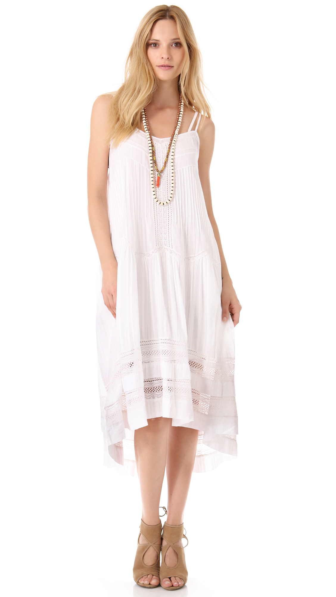 Twelfth Street Cynthia Vincent Western Lace Dress In White
