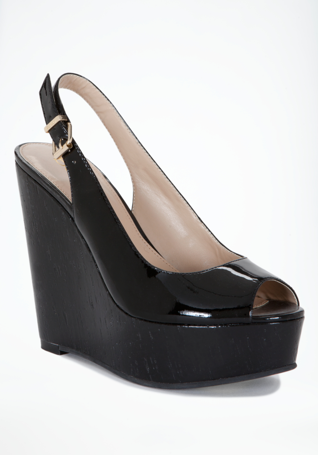 Black patent leather 'Trino' mid wedge heel mules Save. £ KG Kurt Geiger Black 'Notty' high heel wedge sandals Save. Was £ Now £ Padders Black leather 'skye 2' mid heel wide fit shoes Save. £ Wallis Black elastic strap raffia wedge sandals Save.
