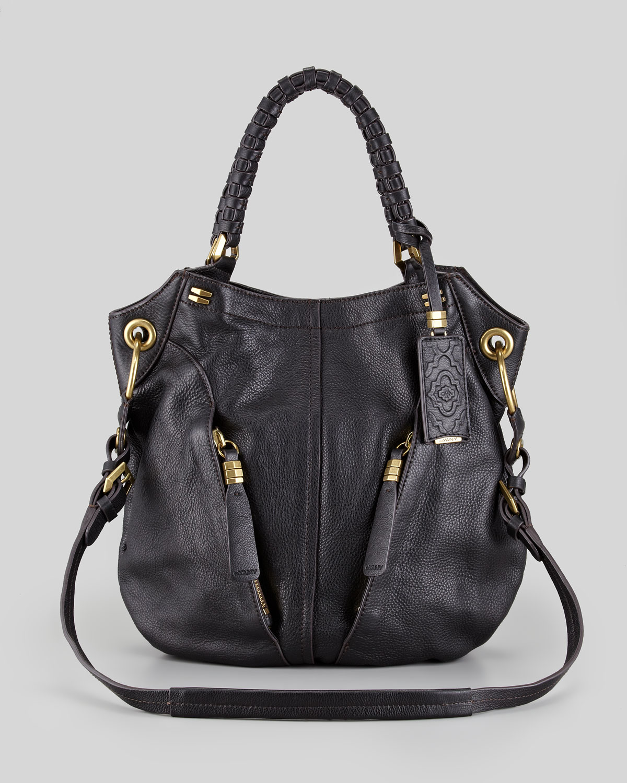 0396b0562bd Lyst - orYANY Gwen Leather Shoulder Bag in Black