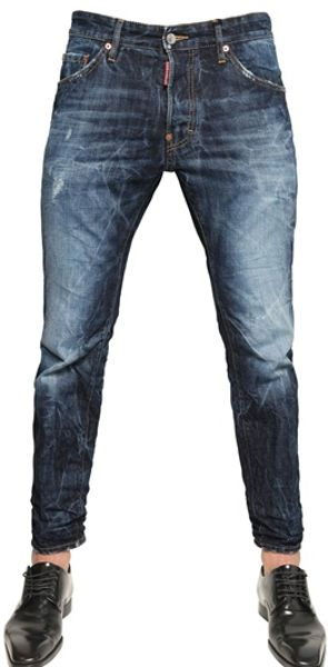 Dsquared² 16cm Cotton Picker Cool Guy Denim Jeans in Blue for Men