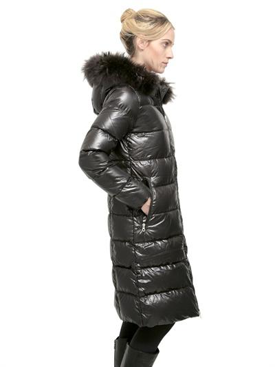 Duvetica Alia Shiny Nylon & Murmansky Down Jacket