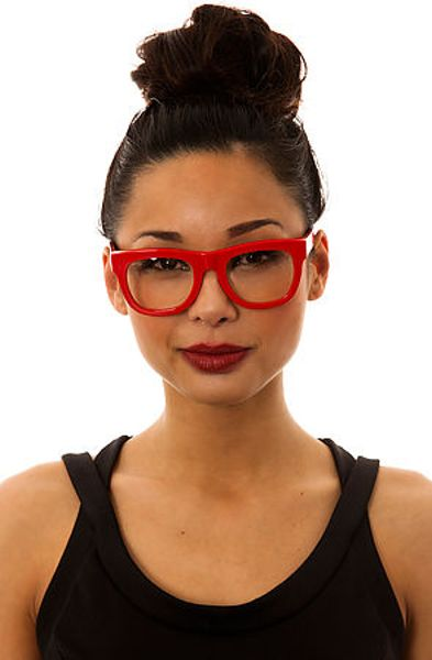 Retrosuperfuture The Ciccio Glasses In Red Lyst