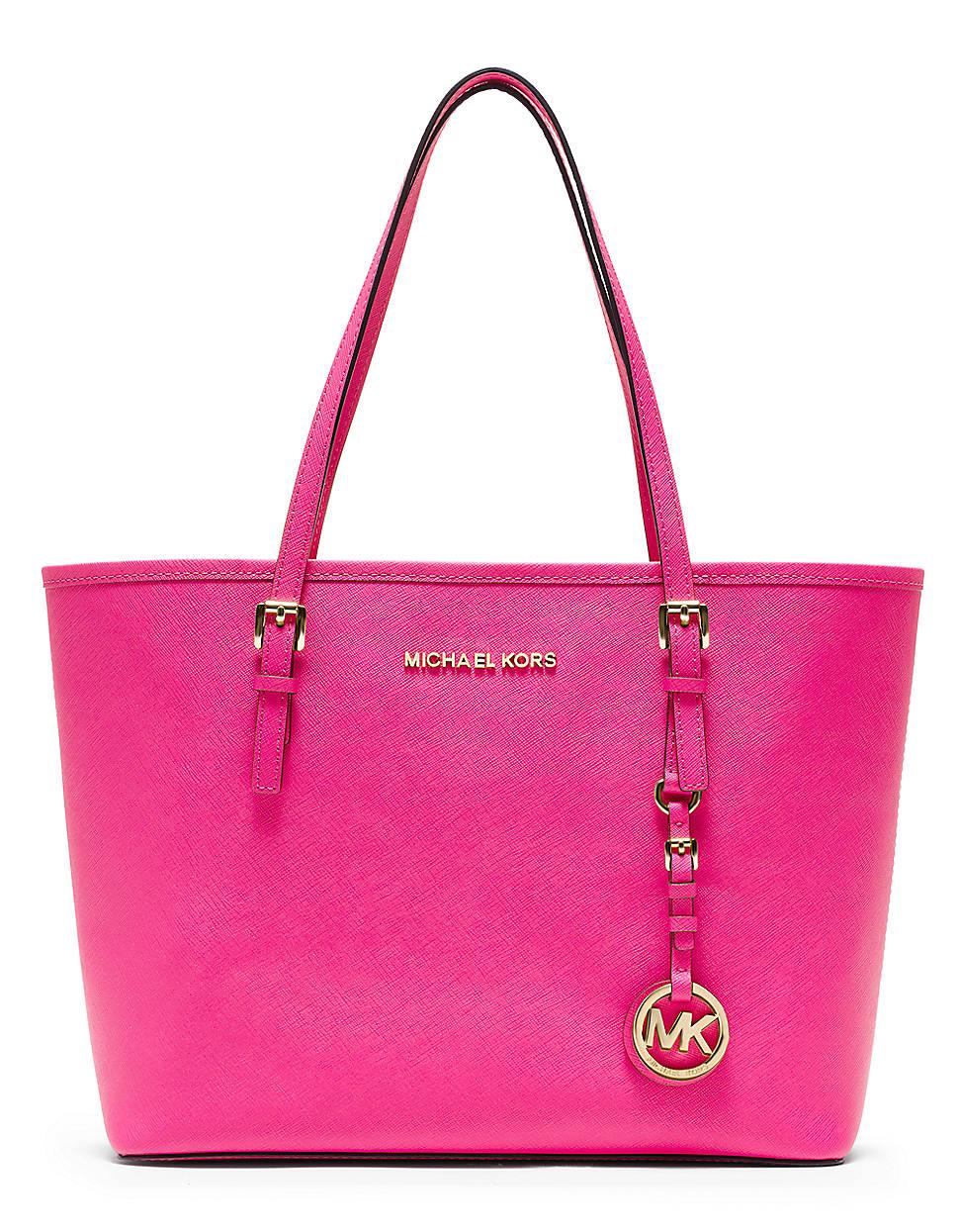Michael Kors Jetset Travel Pink Tote Bag