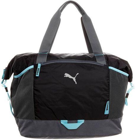 Popular Puma Volcano Gym Bag In Blue Moon Indigo  Lyst