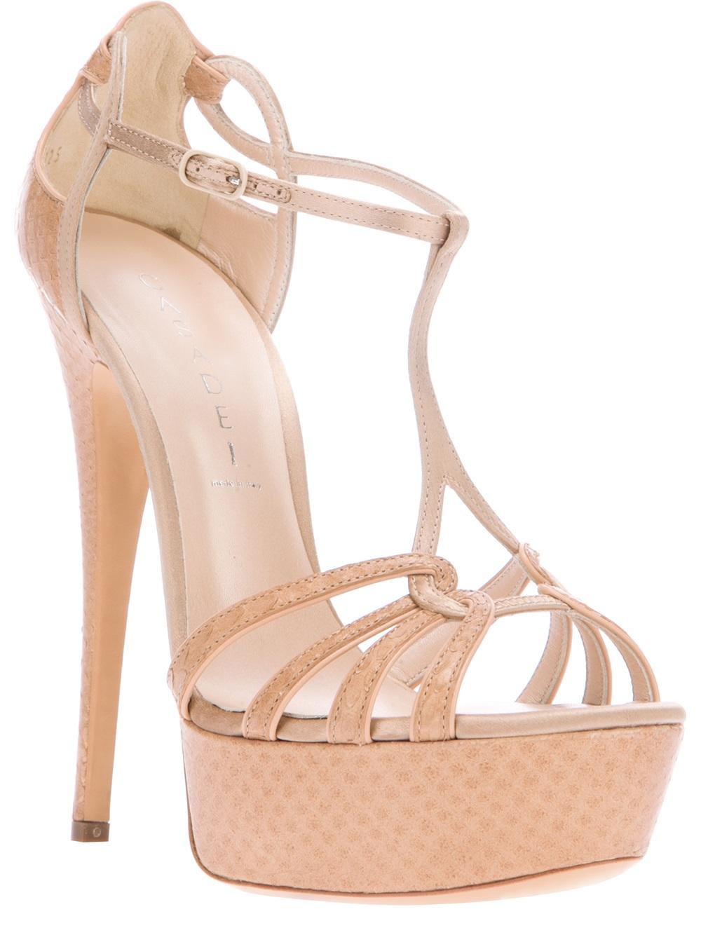 buy cheap 2015 new for sale Casadei Platform Cage Sandals NPkZLBUe