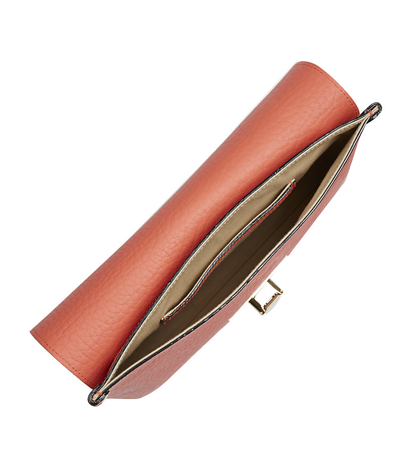 Chlo¨¦ Sally Clutch Bag in Red (gold) | Lyst