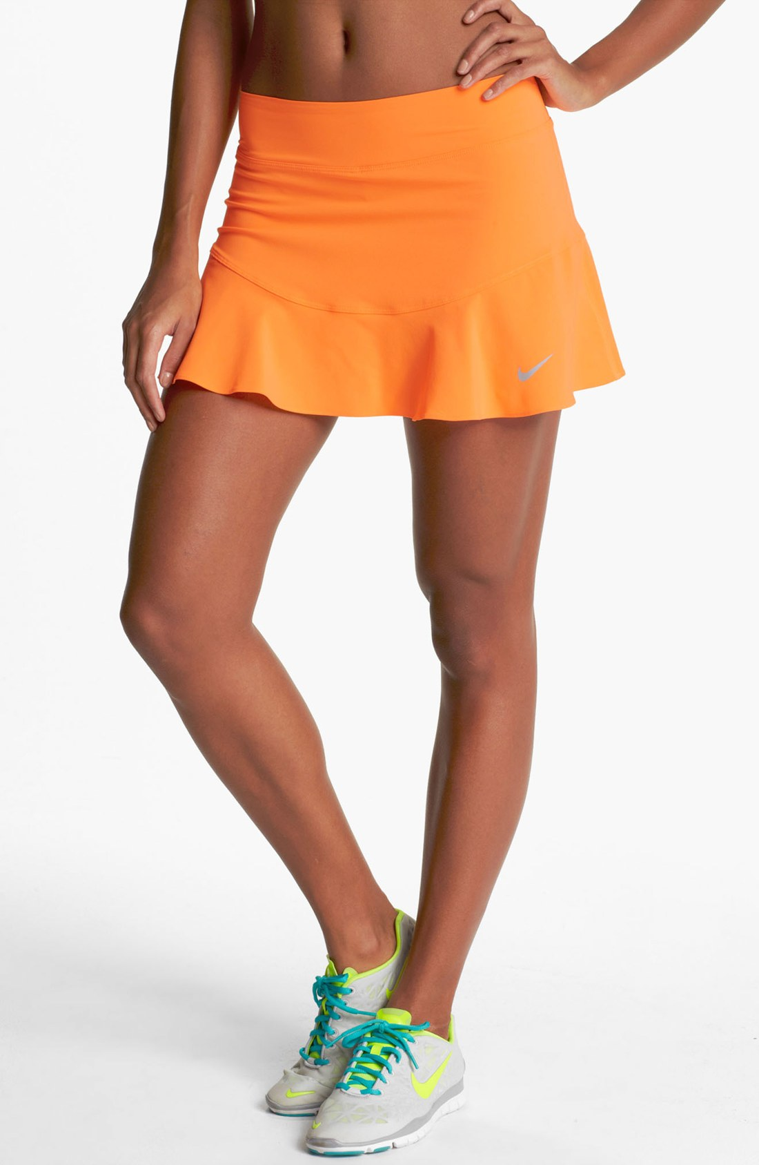 Orange Tennis Skirt 87
