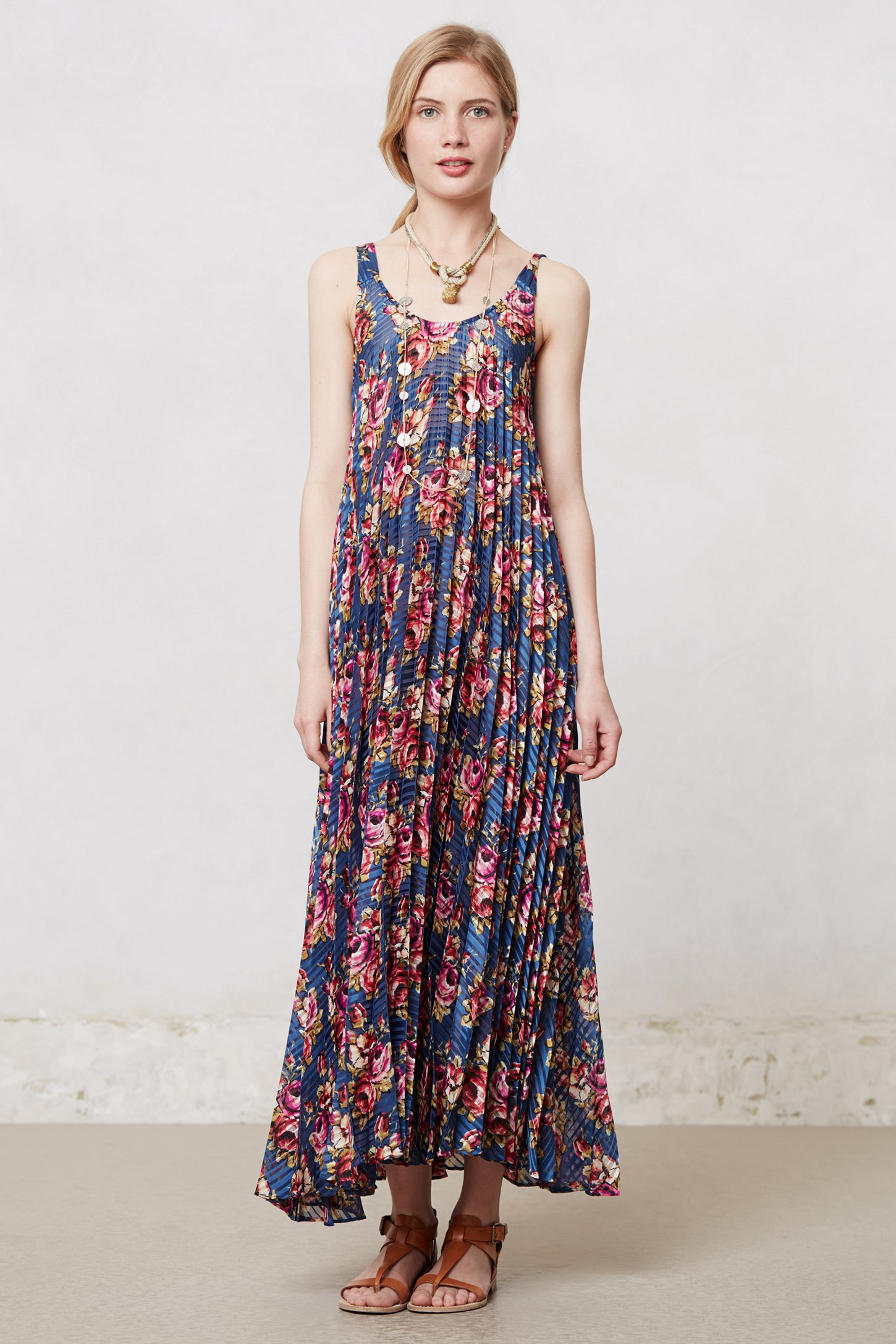Authentic Cheap Price Fast Delivery Cheap Online Zimmermann pleated floral maxi dress 2018 Clearance Official Site tiPgBJi64