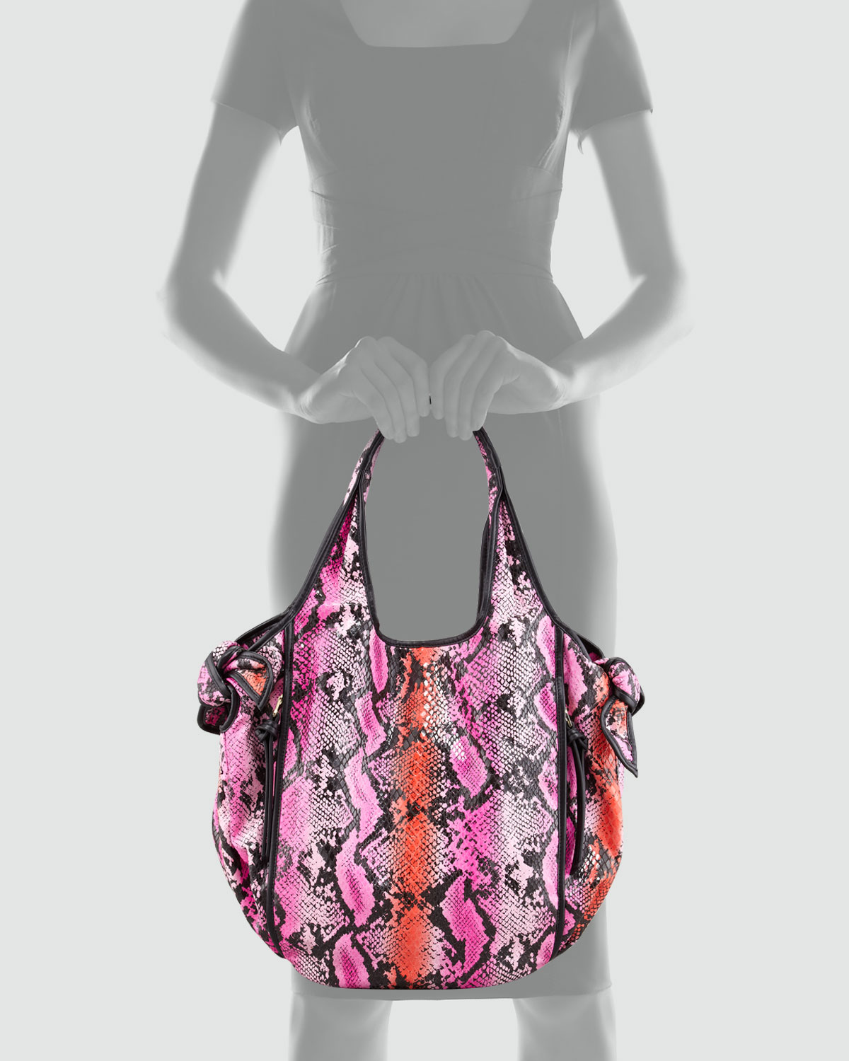 Lyst - Kooba Carmine Knot Tote Bag Pink in Purple 5ad6670663